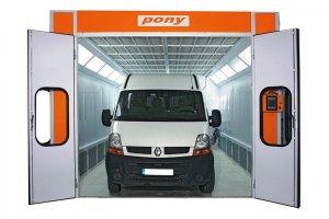 L 8000 Minibüs ve Ticari Araç Boyama Kabini